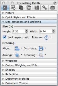 Lock image aspect ratio