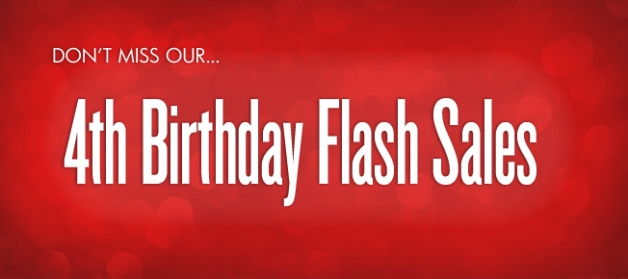 MagCloud's 4th Birthday Flash Sales