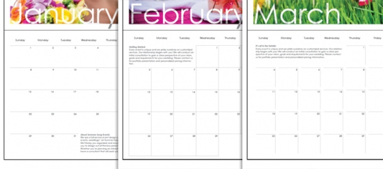 Business Calendar Templates Soloprpro Social Mediacalendar The