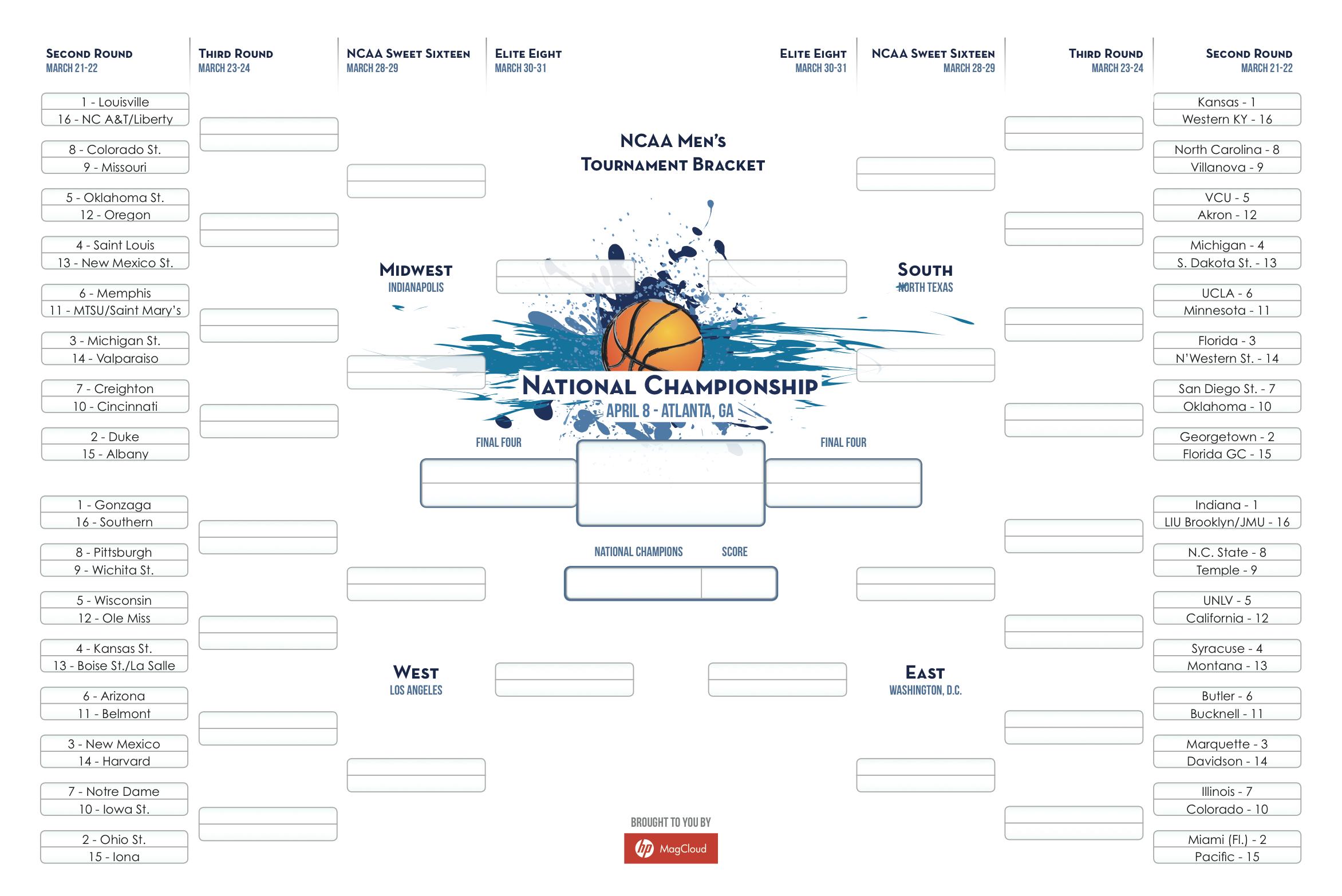 tournament bracket publisher s corner