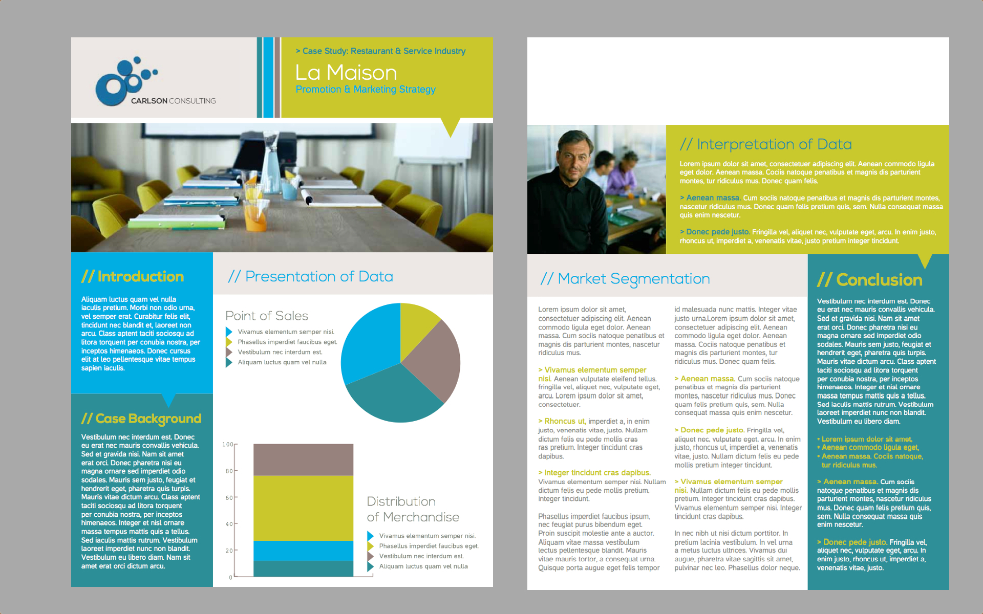 Brochure Template Publishers Corner - Sales brochure template