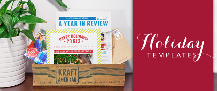 Holiday Newsletter Templates – Publisher's Corner